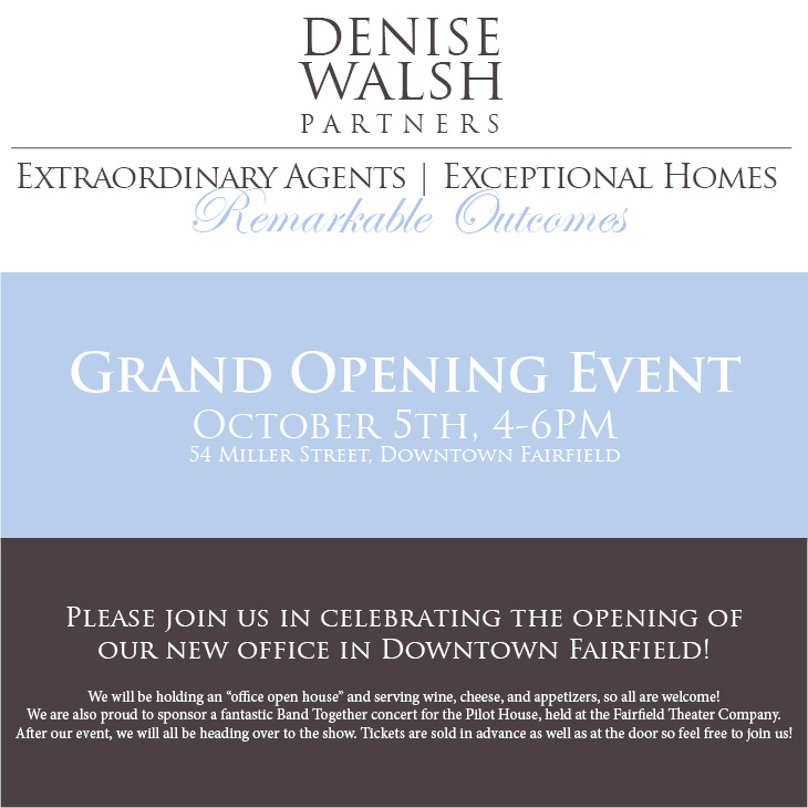 Grand Opening Denise Walsh Partners Fairfield