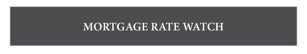 Martgage rate watch