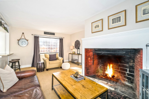 Sit by the fire at our new listing on Congress Street in Fairfield!